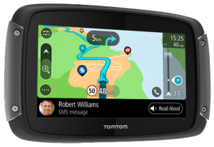 Motornavigatie TomTom of Garmin