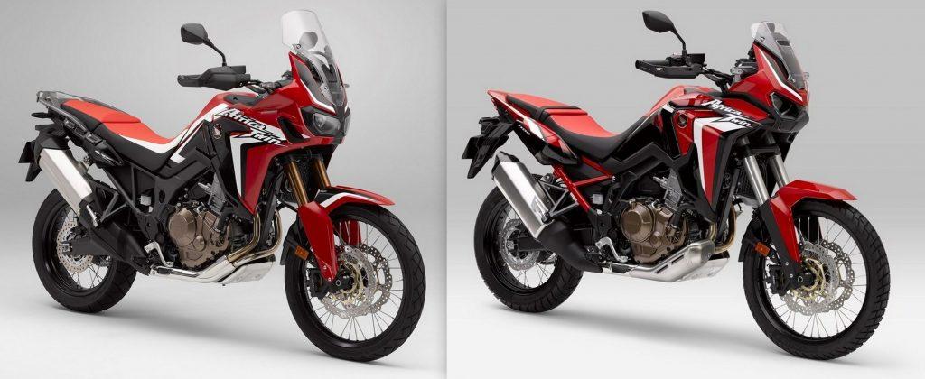 Honda CRF Africa Twin 2016 vs 2020