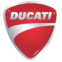 Ducati logo vector slide 200